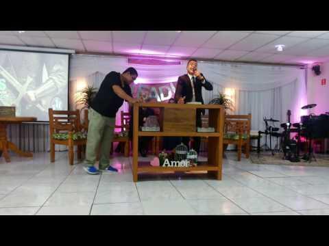Gabriel Farias Pregando na IEADI com o Tema: O Segredo que o Professor Ensinou a João Batista