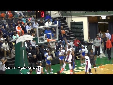 Cliff Alexander Takes Down Simeon In Front of KU Coach Bill Self