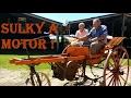 Sulky a Motor!! otro increíble invento de Don Andres