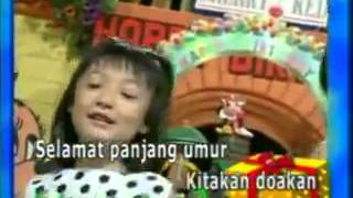 Indonesian Children's song Happy Birthday