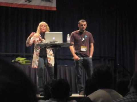 Kathy Sierra and Gary Vaynerchuk SXSW 2009