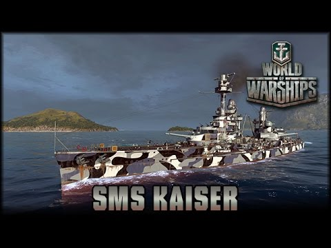 World of Warships - SMS Kaiser - Endlich Turbinen! [ deutsch | Gameplay ]