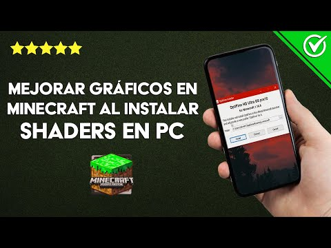 Cómo Mejorar los Gráficos en Minecraft al Instalar o Poner Shaders en mi PC Windows