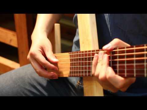 【好哲琴】音量測試 vs 一般木吉他|Cross Guitar vs Normal guitar Volume Test
