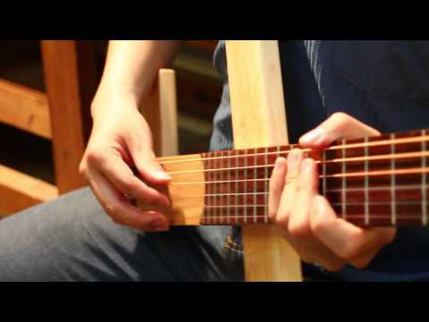 【好哲琴】音量測試 vs 一般木吉他 Cross Guitar vs Normal guitar Volume Test