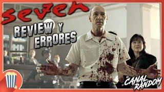 Errores de películas Seven Review Crítica y Resumen Se7en Los Siete...