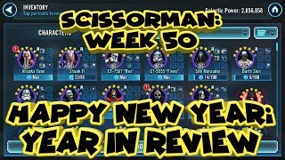 Scissorman Week 50 Year in review    Star wars galaxy of heroes  swgoh