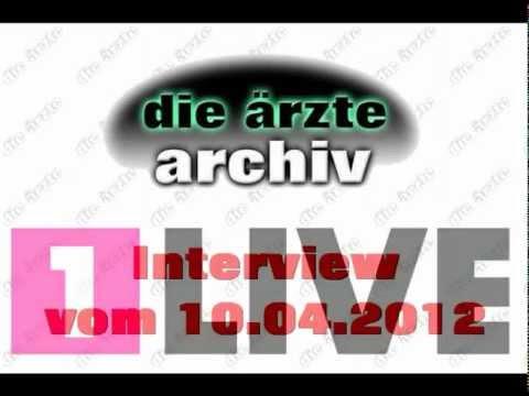 Wdr 1live Plan B 10042012 Interview Mit Die ärzte Teil 6 Youtube