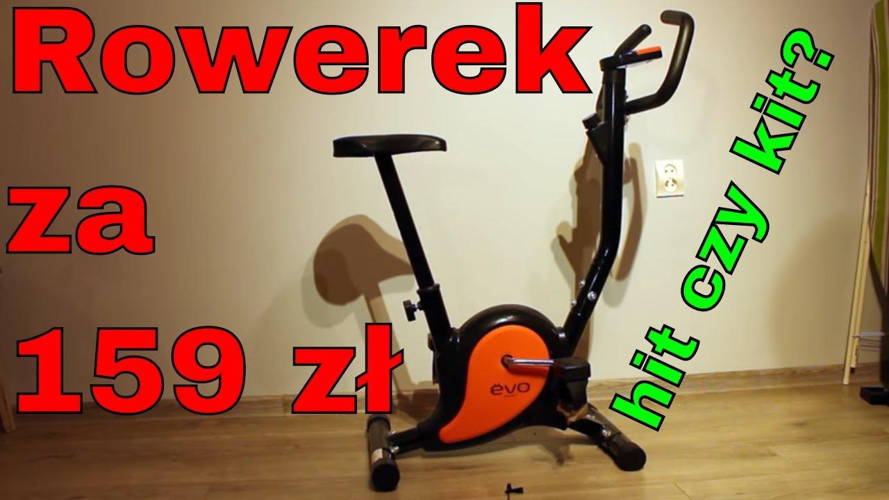 Rower Stacjonarny Za 159 Zl Czy Warto Evo Sport Youtube