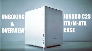 Jonsbo C2 Silver C2S Mini-ITX/M-ATX Aluminum Case Unboxing and Overview