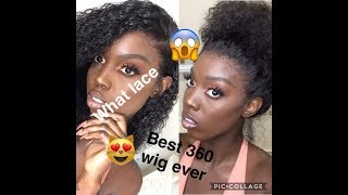 HOW TO INSTALL YOUR 360  Frontal WIG AT HOME /RPGHAIR WIG