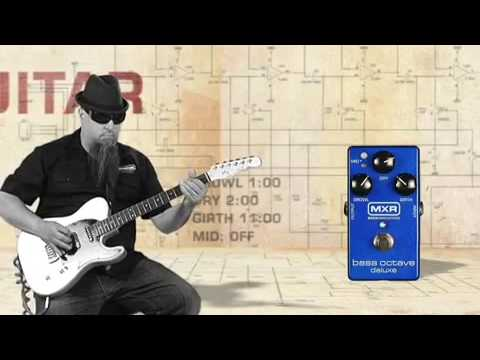 MXR M-288 Bass Octave Deluxe Pedal Video Demo