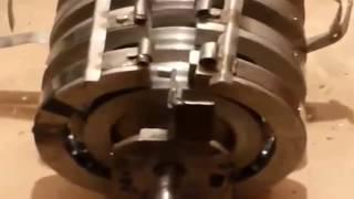 Magnet Motor - Free Energy Selfrunning 1/2