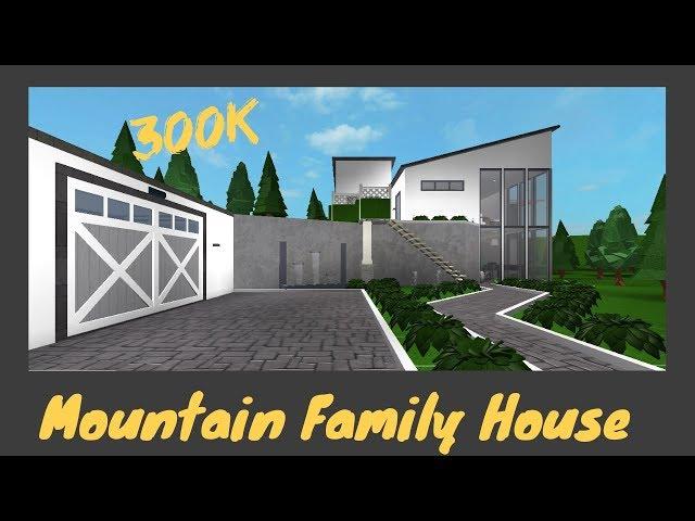 Mountain Family House [Roblox Bloxburg] [Speed Build]