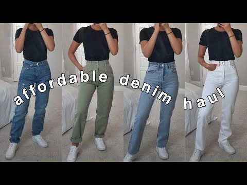 affordable denim haul | under $40