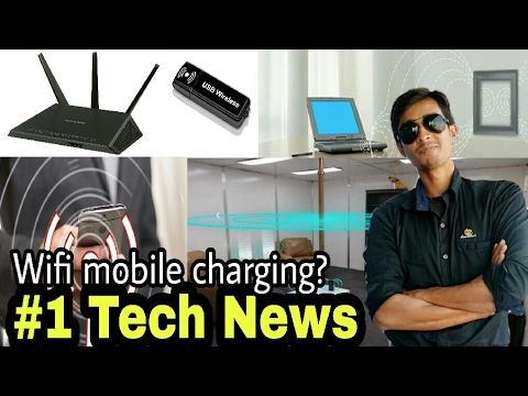 Tech News #1 | wifi Charging | Technology | For  Smart phone Mobile | Latest Wireless tech By itech