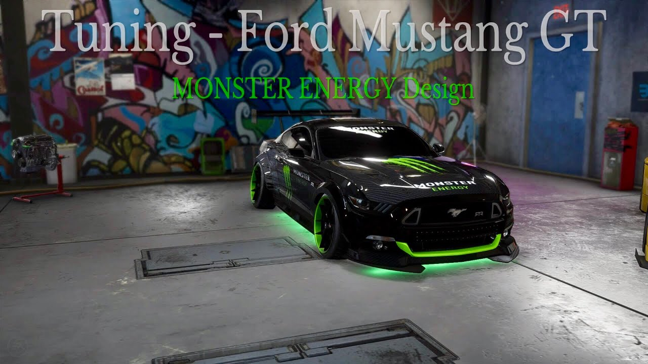 Need For Speed Payback Tuning 001 Ford Mustang Gt Monster