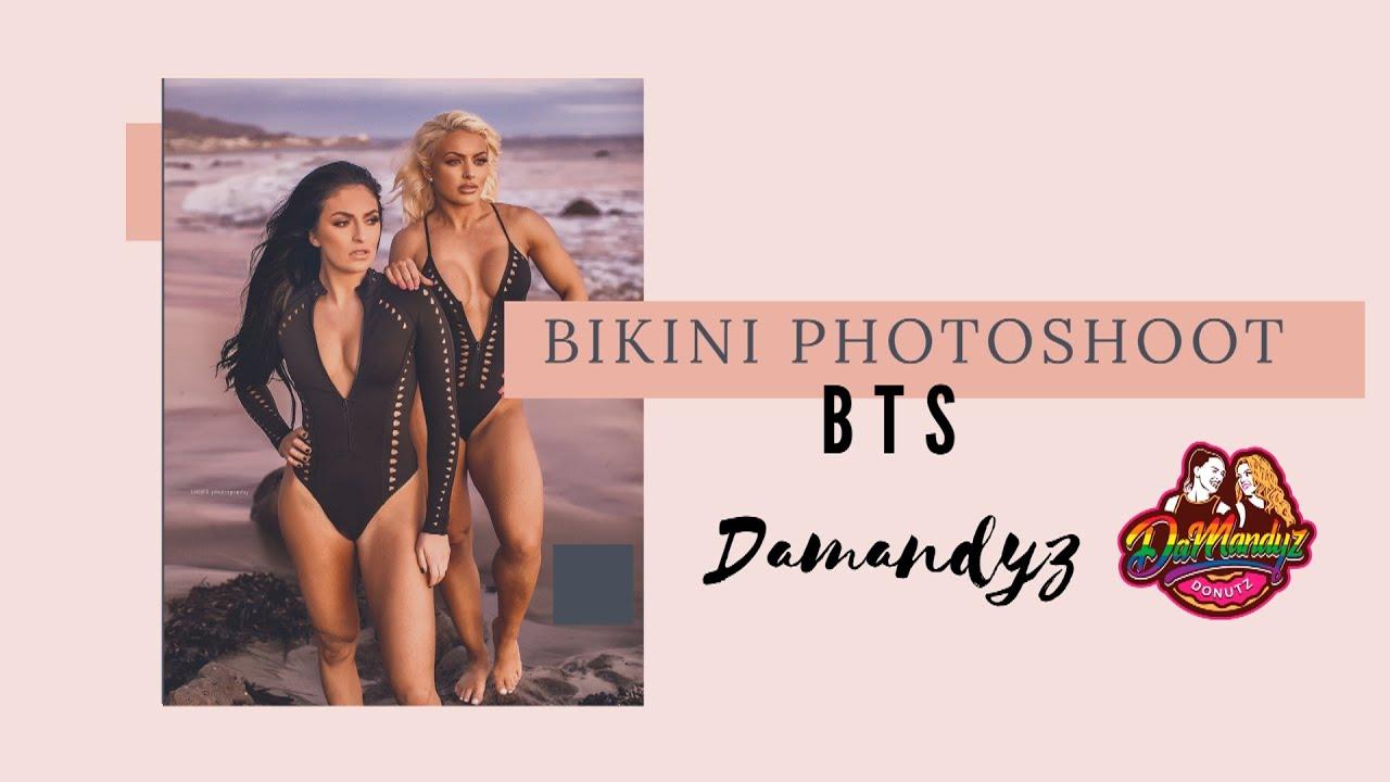 Bikini Photoshoot Bts Wwe Mandy Rose Sonya Deville