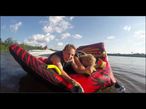 Speedboat Tour Suriname   HD 1080p