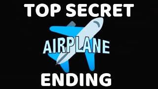 ROBLOX Airplane TOP SECRET ENDING {Become The Monster} | Secret Challenge Completed | Solo Victory