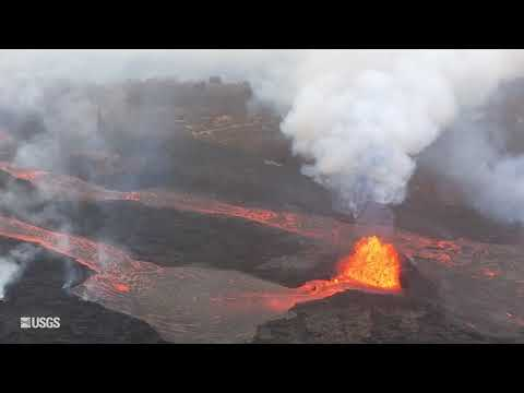 USGS Status Update of Kīlauea Volcano - May 24, 2018