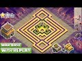 BEST! Town Hall 8 TH8 Clan-War Base 2017/2018 With Replay Proof!! TH8 War Base Layout-Clash of Clans