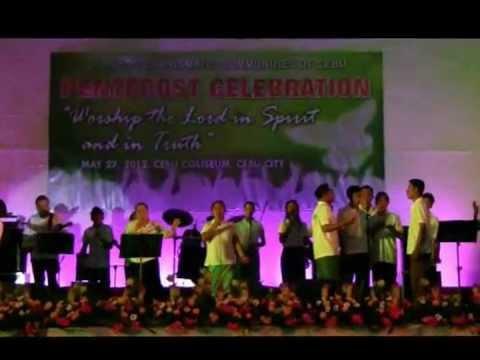 Pentecost Sunday Cebu Coliseum Part 2-A (Worship-continuation)