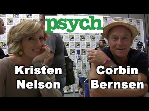 Psych - Corbin Bernsen & Kirsten Nelson Comic-Con 2011