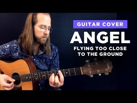 🎸 Angel Flying Too Close to the Ground • guitar cover w/ chords (Willie Nelson lesson)