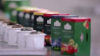 Take a tour of Ahmad Tea's state of the art factory in U.A.E.