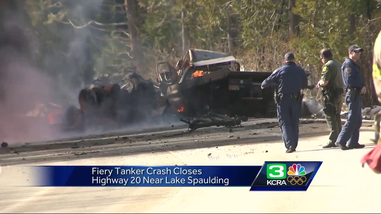2 killed in tanker truck explosion on Hwy  20 in Placer County