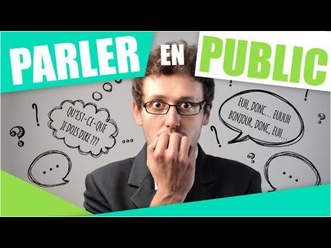 3 CONSEILS POUR PARLER EN PUBLIC ET DESTRESSER