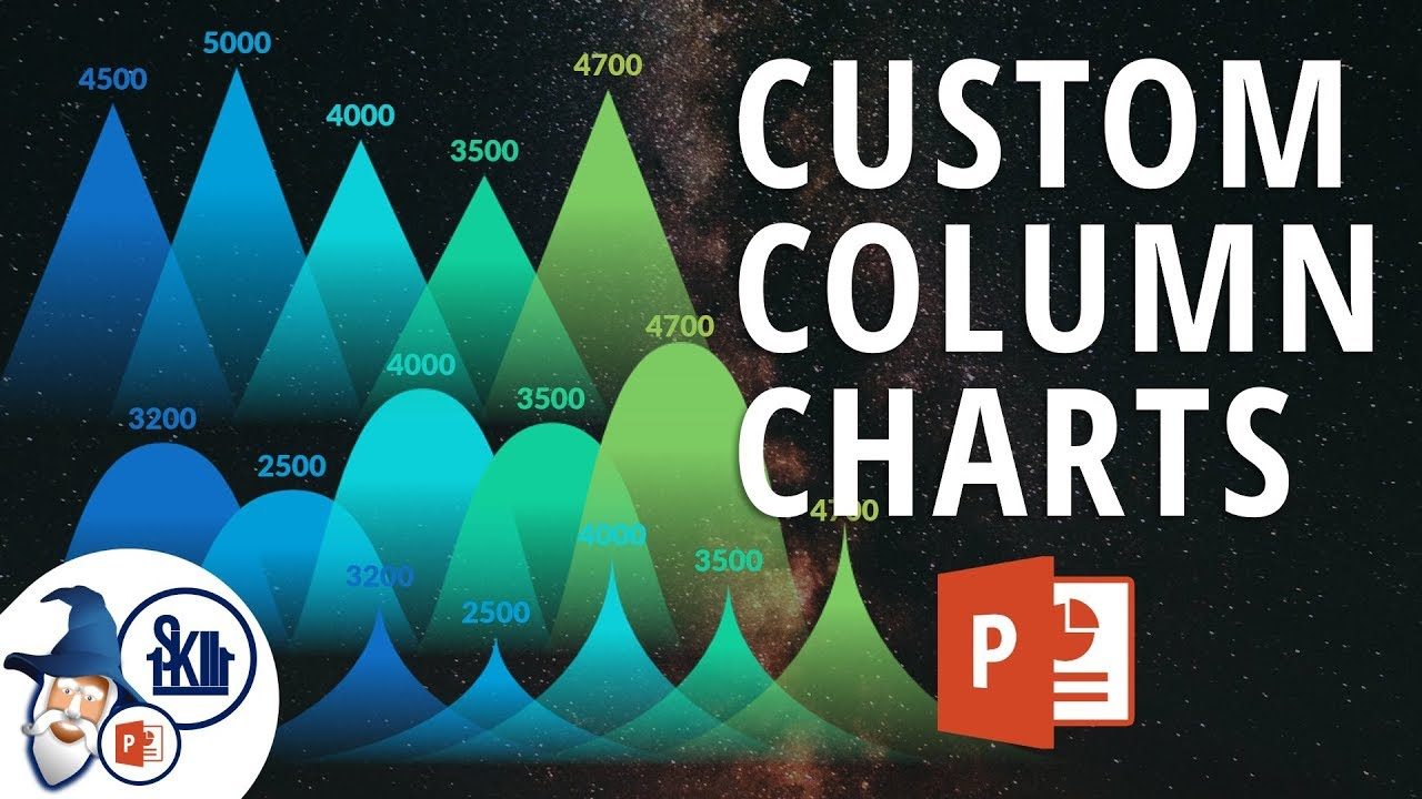 How To Create Custom Column Charts In Powerpoint Powerpoint Chart Custom