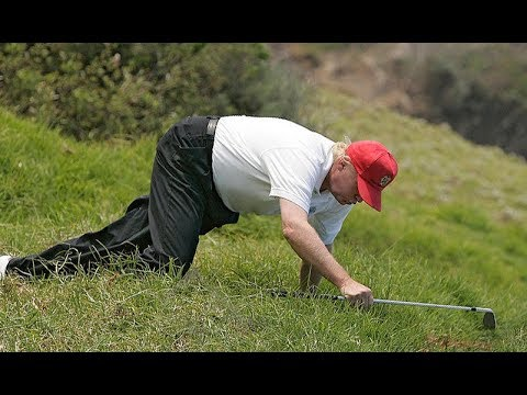 Laziest President in History Starts 17-Day Golf Vacation