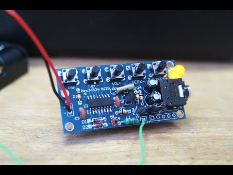 FM Radio module - kit build  (#68)