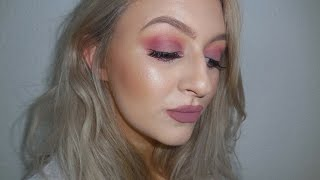 PINKY MAUVE EYE | TUTORIAL