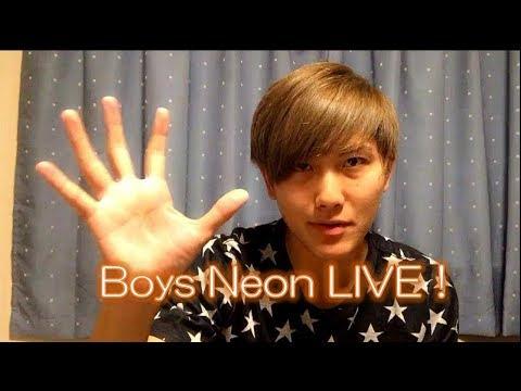 Boys Neon LIVE! 9/19(火)