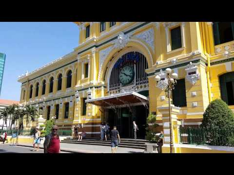 Saigon Central Post Office - Ho Chi Minh Vietnam