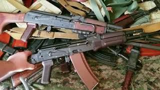 WASR 10 AK Upgrade 9: Bonesteel Arms Galil Folding AK Stock