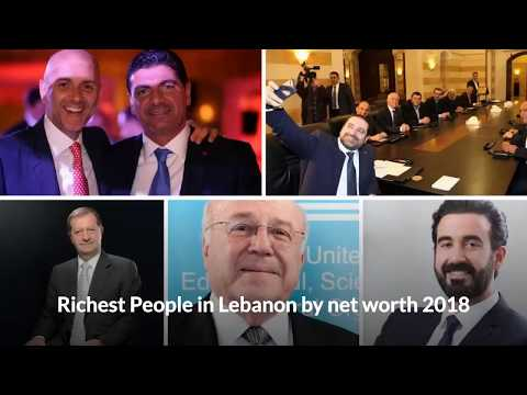 richest people in lebanon by net worth 2018