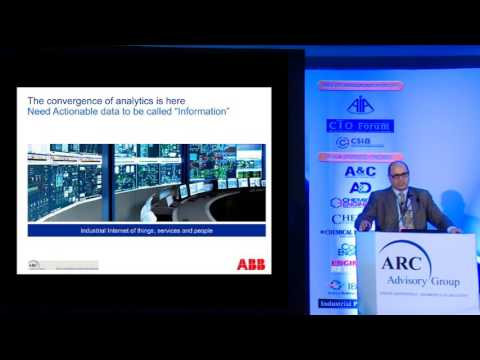 """""""The Intersection of EAM and Industrial IoT"""" - Niraj Vinaik Vice President, ABB"""