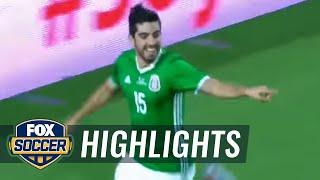 Rodolfo Pizarro gives Mexico an early l...