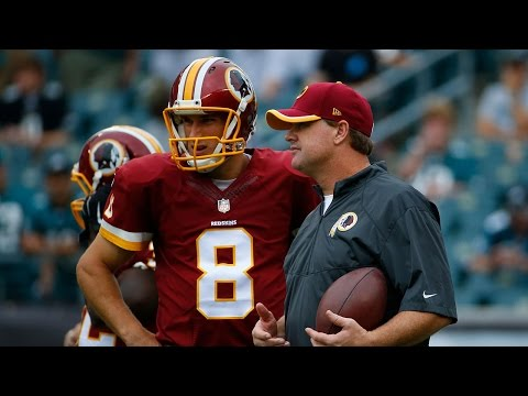 Jay Gruden announces Kirk Cousins is the Redskins starter
