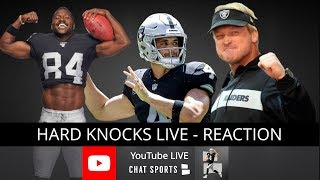 HBO Hard Knocks 2019 Live: Oakland Raiders Episode 2 Live Instant Reaction + Winners & Losers