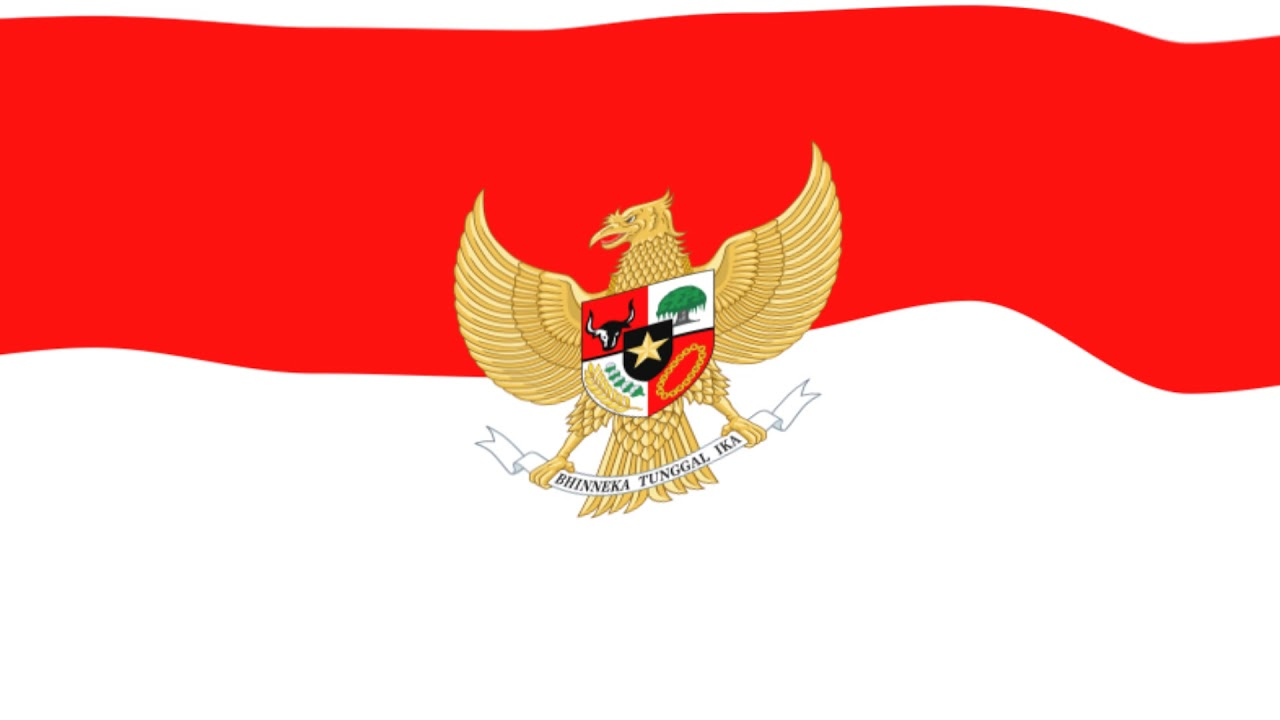 Free Background Animasi Bendera Merah Putih Lambang Garuda Youtube