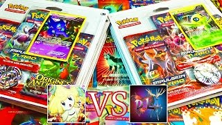 Ouverture de 6 Tripacks Pokémon XY8 Impulsion Turbo - David Lafarge VS MissJirachi, BATTLE TURBO !
