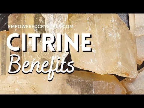 Citrine Crystal Benefits
