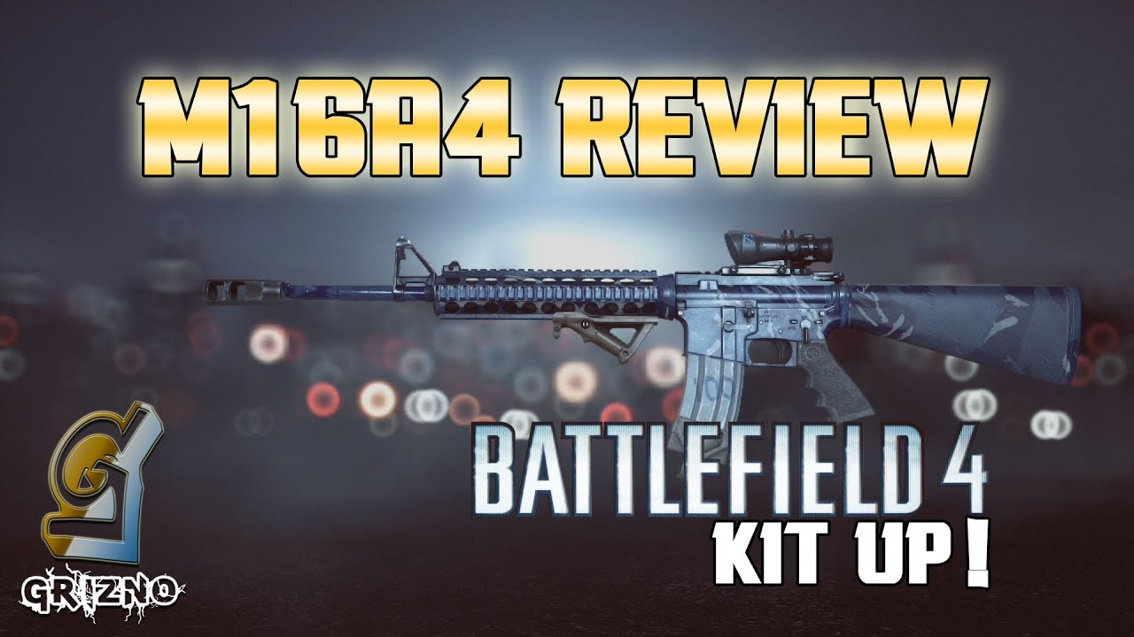 M16A4 Review [PRE-PATCH] - Battlefield 4 - YouTube M16a4 Bf3