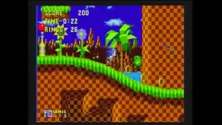 AtGames Sega Genesis Classic Game Console (2015 version): Sonic the Hedgehog