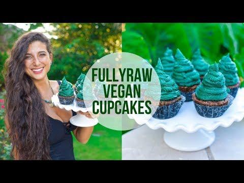 FullyRaw Vegan Cupcakes! Holiday Season Recipe!